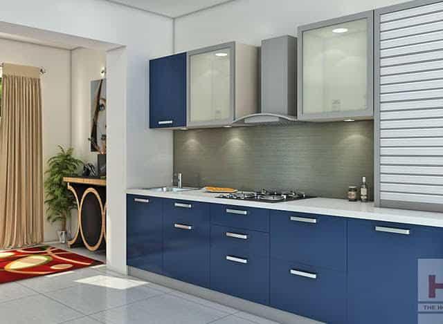 Straight Kitchen Design | Domov