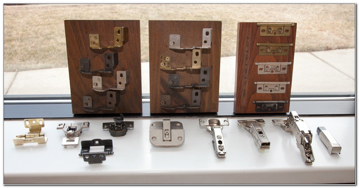 Types of Hinges used in kitchen cabinets and door
