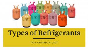 Types of AC Refrigerant