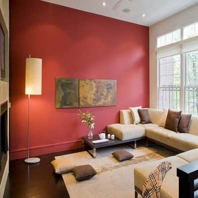 living room wall paint