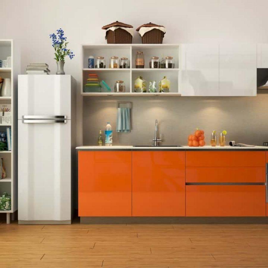 Orange Acrylic Finish