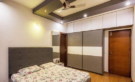 4 - Sliding Door Wardrobe Designers-7-MBR 2-2BHK-Electronic City-Bangalore