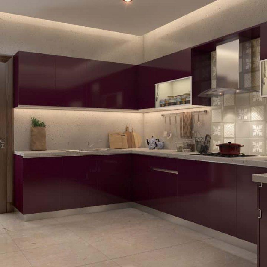 Purple Acrylic Finish