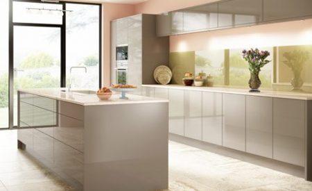 acrylic finish modular kitchen
